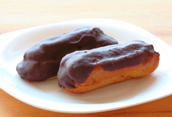 Eclere cu ciocolată