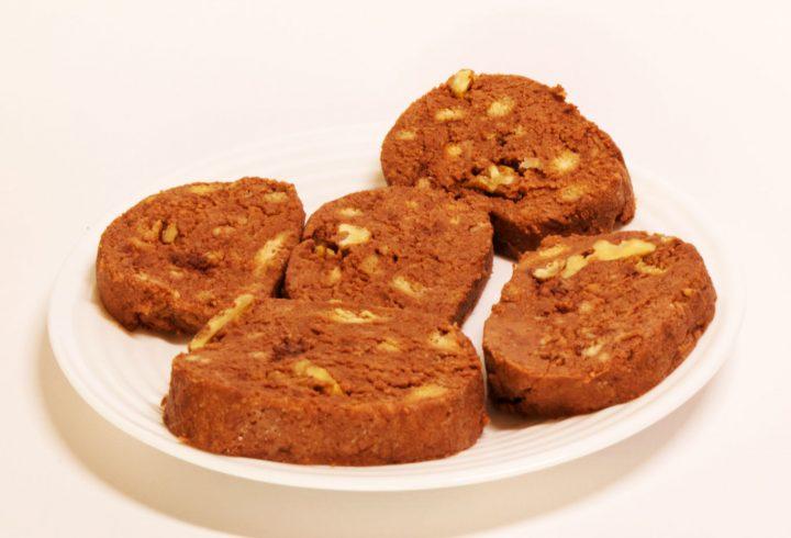Salam de biscuiți de post