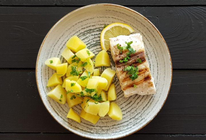 Escolar (pește uleios) la grătar